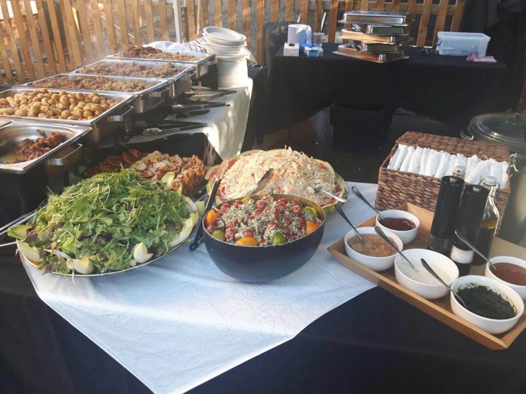 Set Up - Salads And Accompaniments