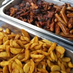 Seasoned Wedges And BBQ Meats