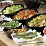 Selection Of Fresh Salads