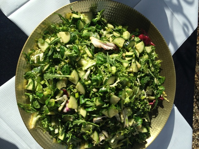 Spring Green Leaf Salad