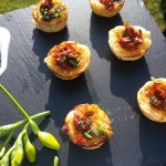 Canapes Served To Your Guests